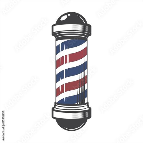 Valokuvatapetti Barber Shop Pole