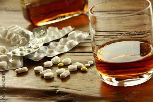 Poster de jardin Bar tabletten alkohol cocktail II