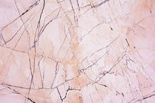 Pink Light Marble Stone Texture Background.Natural Pink And Brow