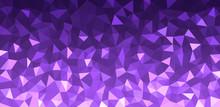Purple Geometric Texture Abstr...