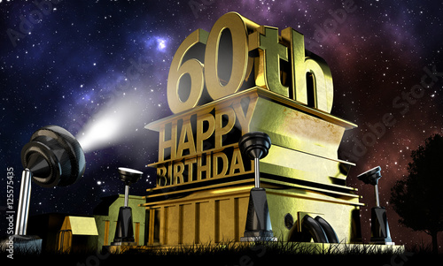 Photographie  60. Geburtstag