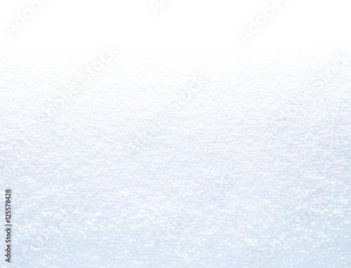 Pure white snow background Fototapeta