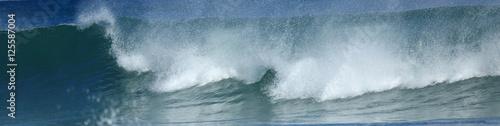 Foto auf Gartenposter Wasser wave at the sea