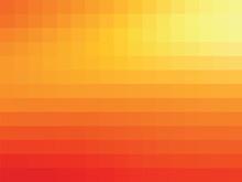 Orange Mosaic Background