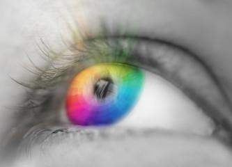 color eye