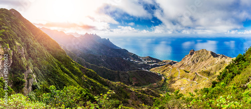 Spoed Foto op Canvas Canarische Eilanden Anaga Mountains, Taganana, Tenerife