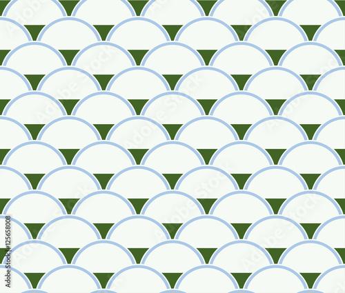 Naklejki witrażowe geometryczny-wzor