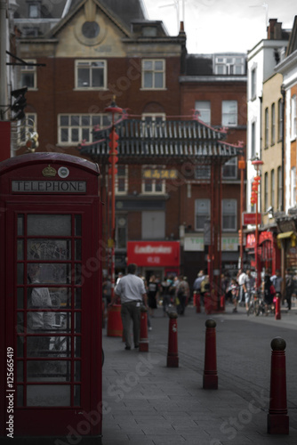 Photo sur Aluminium Europe Centrale London - Chinatown