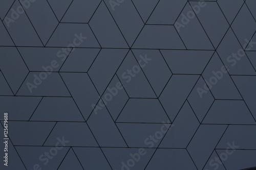 Modern Building Facade Pattern Geometric