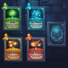 Set Spell Cards Of Nature, Ice...
