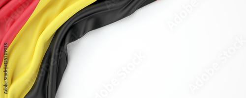 Belgian flag Canvas Print