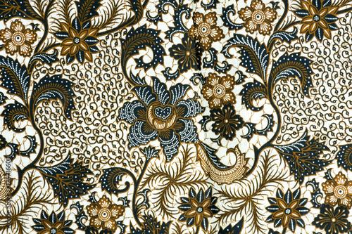 Traditional batik sarong pattern background Wallpaper Mural
