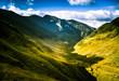 A beautiful mountain landscape in Carpathian mountains