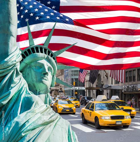 Fototapeta New York   fotokolaz-w-nowym-jorku