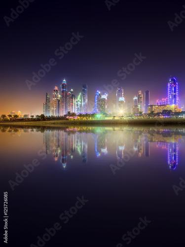Poster Dubai Marina bay, UAE