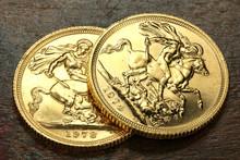 Britische Sovereign Goldmünze...