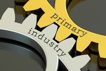 Primary Industry Concept On Th...