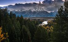 Jackson View Overlook, Grand Teton National Park