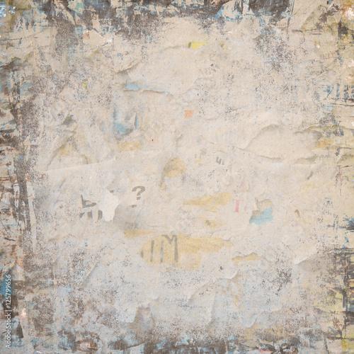 Poster Vieux mur texturé sale retro background