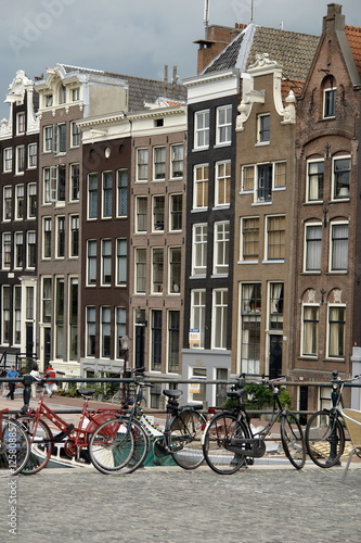 Panorama di Amsterdam Canvas Print