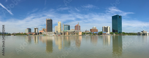Panorama of the Toledo skyline