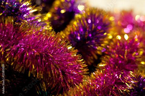 Staande foto Koraalriffen Colorful tinsel