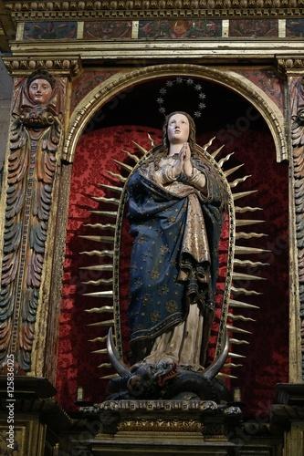 Fotografie, Obraz  Retablo de la Inmaculada Concepción ,Santa Iglesia Catedral de Nuestra Señora de