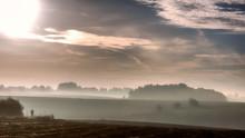 Waterloo Battlefield In Autumn