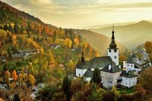 Fall In Slovakia. Old Mining V...