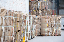 Waste Paper Is Collected And P...