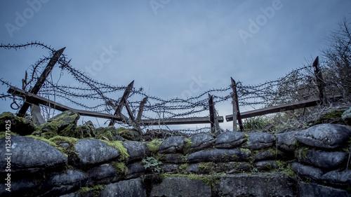 Fotografia First World War, German trenches