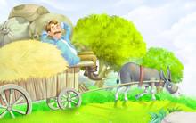 The Donkey And The Lap Dog Sto...