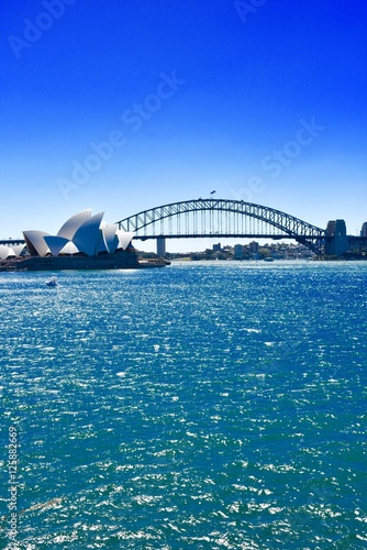 Photo  Vertical Sydney Harbor