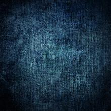 Blue Grunge Background.