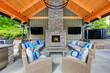 Inviting interior of covered patio area  in Tennis Club