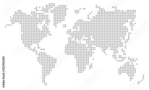 Dot World Map.Dot World Map Buy This Stock Vector And Explore Similar Vectors At