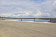 Empty Highway Curve