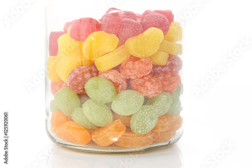 Keuken foto achterwand Snoepjes Assortiment de bonbons aux fruits