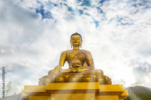 Photo  Buddha on bright day, Buddha Dordenma statue, Thimphu, Bhutan