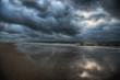 canvas print picture - Strand auf Sylt