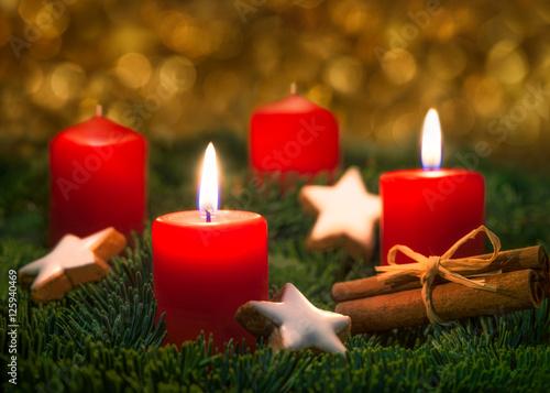 Bilder Zweiter Advent Zweiter Advent an Weihnachten   Buy this stock photo and explore