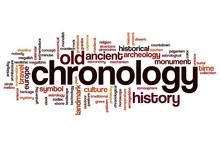 Chronology Word Cloud