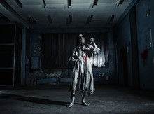 Portrait Of The Horror Zombie ...