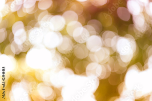 Tuinposter Purper Abstract nature bokeh blurred background.