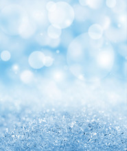 Winter Abstract Background Wit...