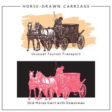Vector Illustration Of Horse-d...