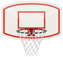 Basketball Net And Hoop