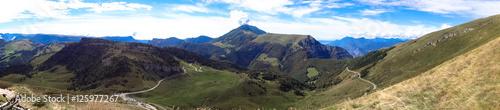 Monte Baldo view from Monte Altissimo Canvas Print