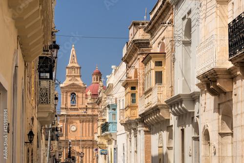 Fotografia, Obraz  Street in Malta