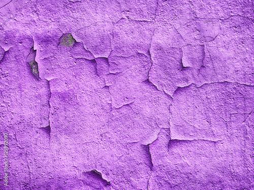 Obrazy wieloczęściowe purpurowy tynk ściany
